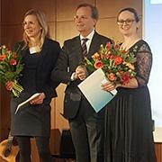 """פרס ארצ'ס היוקרתי של קרן מינרבה הגרמנית הוענק לד""""ר מירי ימיני מבית הספר לחינוך"""
